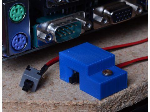 Power Switch Bracket 3D model