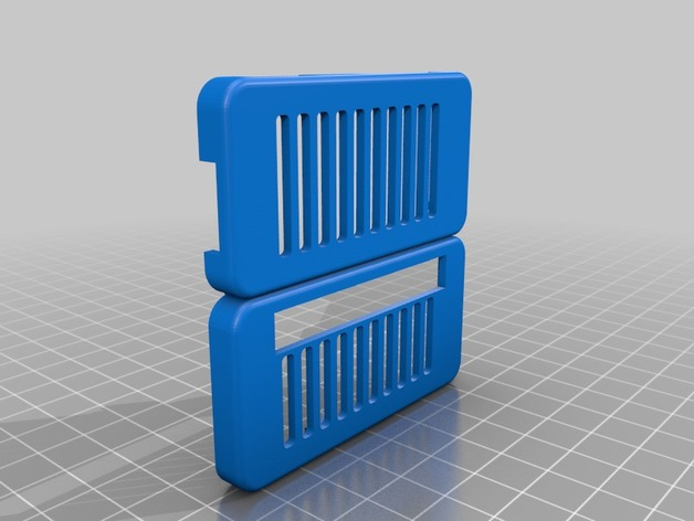 3D Raspberry PI Zero case GPIO  model