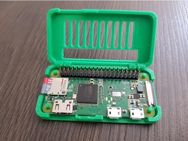 Raspberry PI Zero case GPIO 3D model