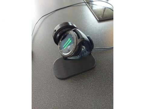Samsung Gear S3 Charging Dock Stand 3D model