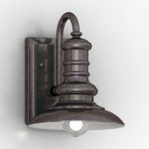 Sconce Feiss 3d lamp model
