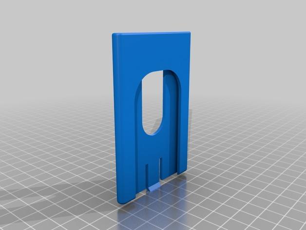 3D Security Card Holder model