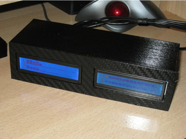 Spectrum Analyzer & Vu Meter 3D model