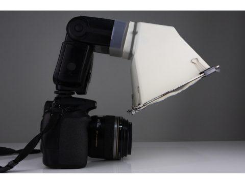 Speedlight Flash Diffuser for Macro (Yongnuo & Canon) 3D model