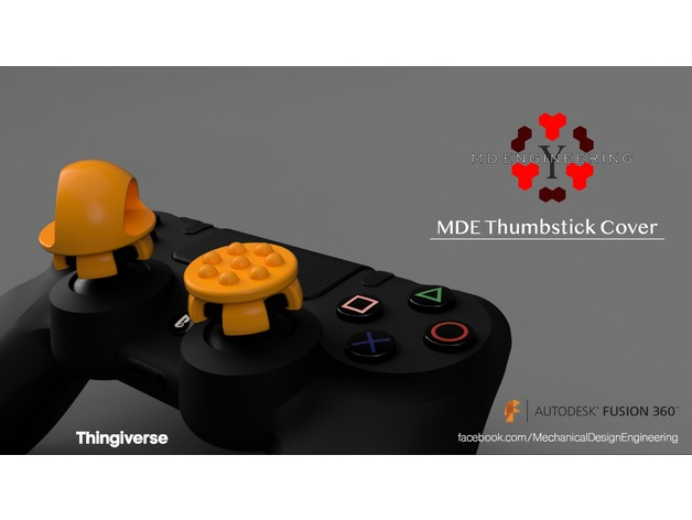 Thumbstick Cover for ps4 controller 3D model