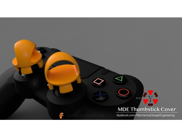 3D Thumbstick Cover for ps4 controller model