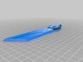 Fusion sword 3D model