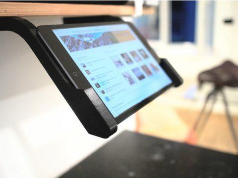 iPad mini – simple shelf mount 3D model
