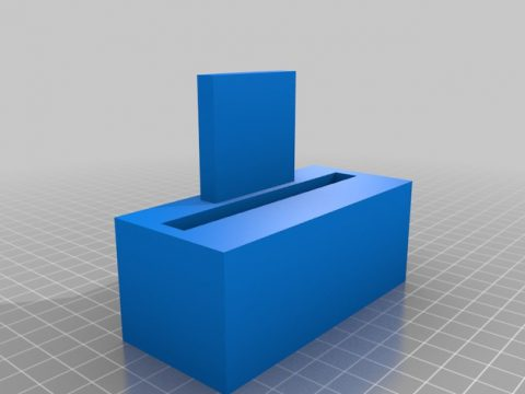 iPhone 5,6,7,8,9,10 stand 3D model