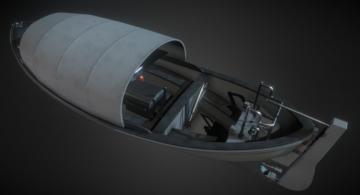26ft. Whaleboat 3D model