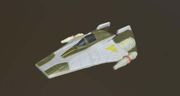 A- Wing Hotwheels 3D model