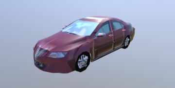 Acura Rl 2005 3D model