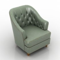 Armchair AMD 3d model