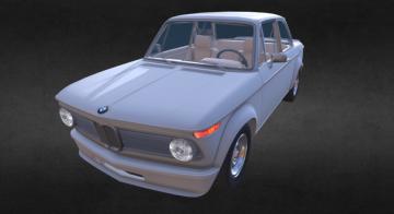Bmw 2002 3D model
