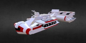 CR90 Corvette 3D model