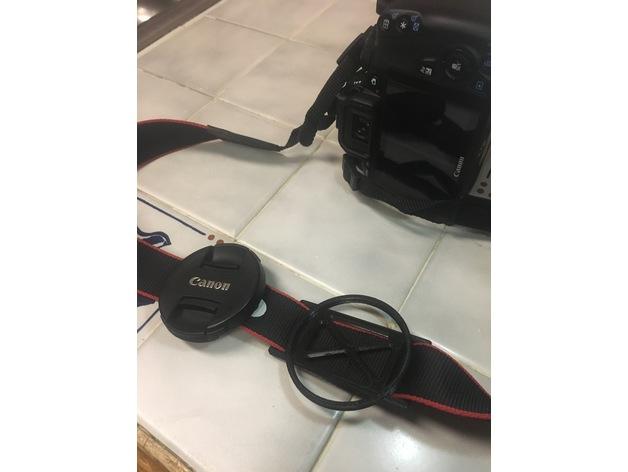3D Canon Lens Cap Holder  model