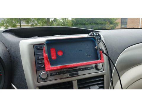 Car phone mount 3D model