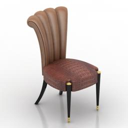 Chair Sara Busnelli Adamo 3d model