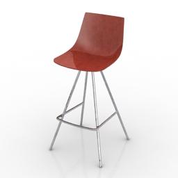 Chair bar Join davisfurniture 3d model