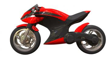 Concept Sport Bike 3D model