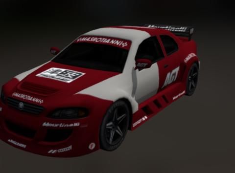 Coupe DX 3D model