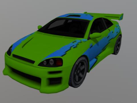 Custom Coupe Ultimate 3D model