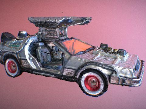 Delorean Toy 3D model