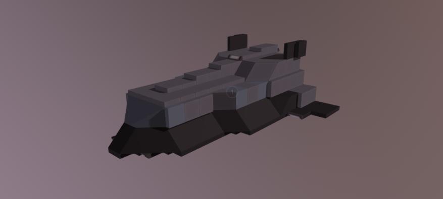 ED Hauler V2 3D model