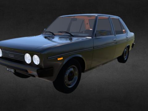 Fiat 131 3D model