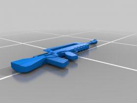 Fortnite Famas 3D model