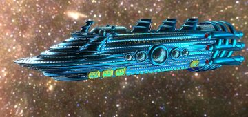 Galactic Empress: Luxury Starliner 3D model