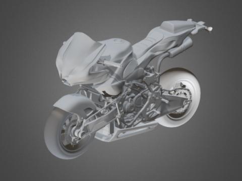 Honda Vyrus motorbike 3D model