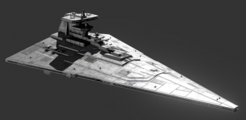 Invictus Class Star Cruiser 3D model
