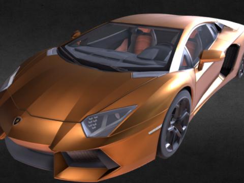 Lamborghini Aventador Lp700 3D model