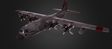 Lockheed AC-130 3D model