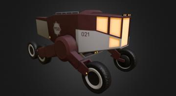 MSB Jeep 3D model