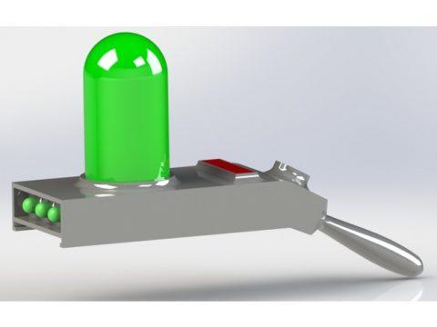 Rick and Morty Portal Gun 3D model
