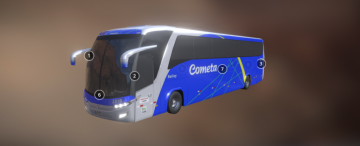 SM Onibus Cometa 3D model