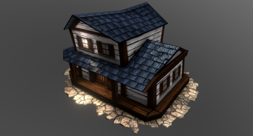 Southwest style Tavern 3D model