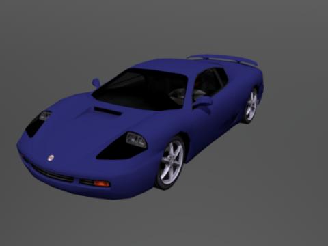 Super Type 1 3D model
