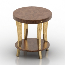 Table round 3d model