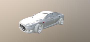 Tesla Model-S 3D model