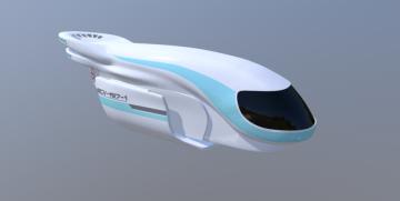 The Orville Shuttle 3D model