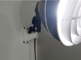 Wall Mount for Studio Light 3D model