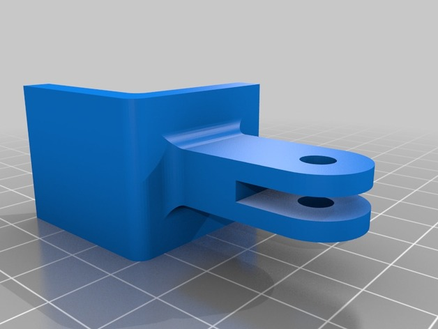 3D Webcam mount  model