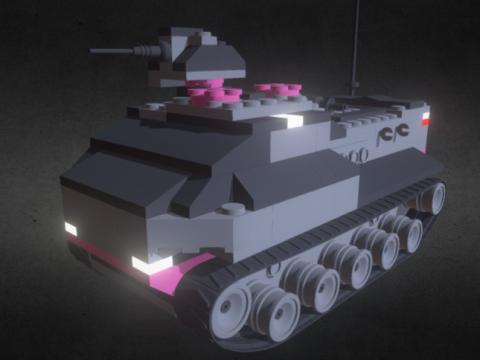 Amored vehicle M38-B6300 3D model