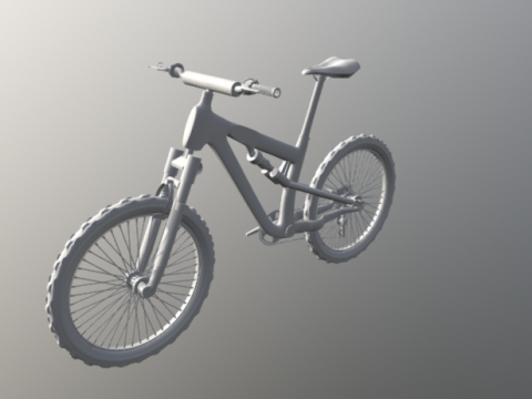 BMX 3D model