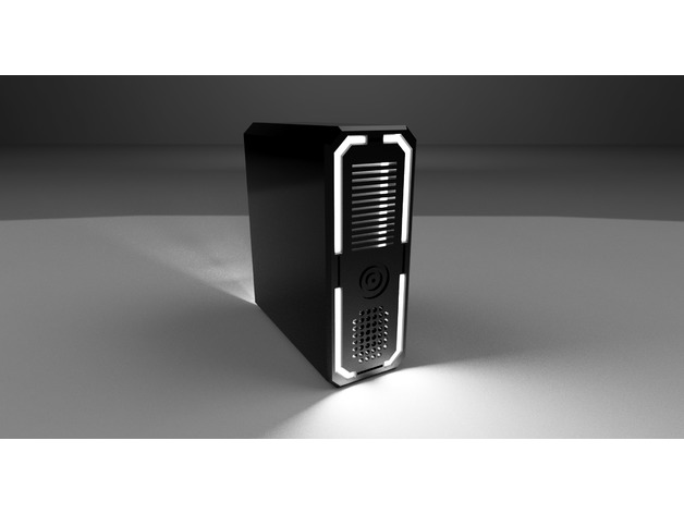 3D Raspberry gaming case  model