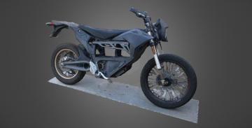 2013 Zero XU Motorcycle With FX Bodywork 3D model