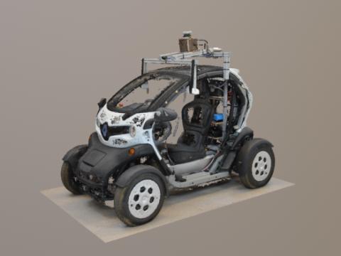 Autonomous Twizy 3D model